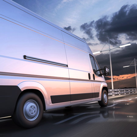 Using transportation business loans to purchase new transport vans