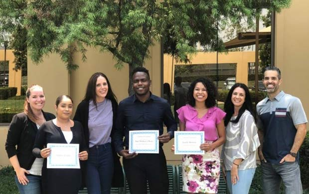 QuickBridge Sponsors Three Guardian Scholars for Its Three-Day Internship Program